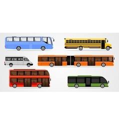 Bus Set vector image
