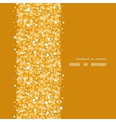 golden shiny glitter texture vertical frame vector image