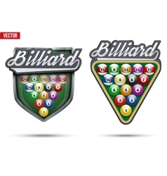 Premium symbols of Billiard Tag vector image