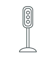 semaphore traffic lights vector image