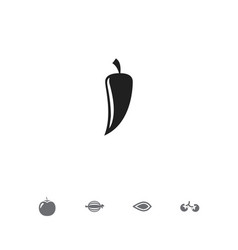 set of 5 editable food icons includes symbols vector image