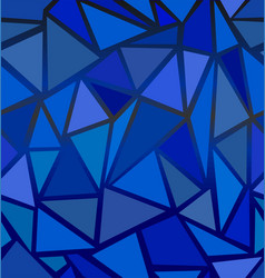 structure of triangles vector image