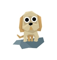Small Puppy Bulldog vector image vector image