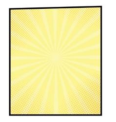 cartoon bang2-8 vector image vector image