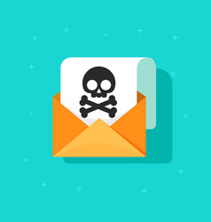 email spam icon scam e-mail message vector image