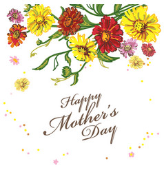 background for mothers day vector image