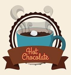 Chcolate design vector image