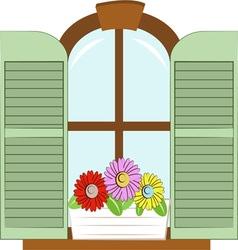 Flower Windowbox vector