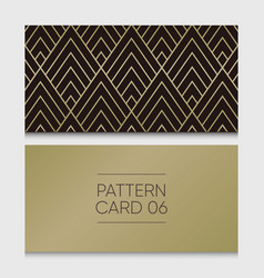pattern-card-06 vector image