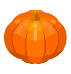 Pumpkin thanksgiving icon isometric style vector