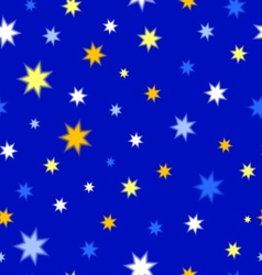 Texture of stars vector image