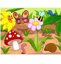 little animals vector image