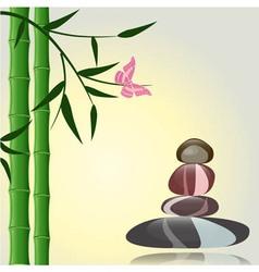 Spa Zen Background vector image