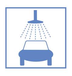 icon car wash vector image