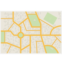 Abstract city map vector
