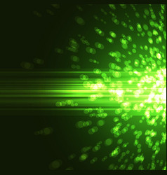 Bright green abstract party background vector