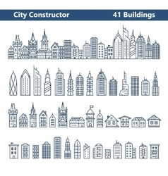 City builder vector