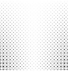 monochrome circle pattern - abstract geometrical vector image