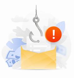 Phishing email alert vector