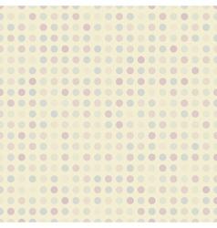 Retro dot seamless pattern tiling Endless texture vector