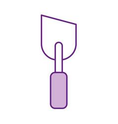 spatula of construction icon vector image