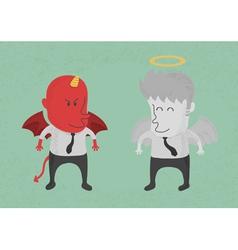 DevilAngel2 vector image