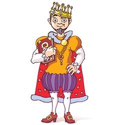 Sage King vector image vector image