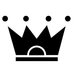 crown pictogram icon vector image