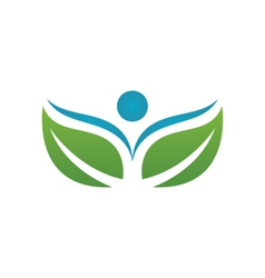 Eco Leaf Logo vector