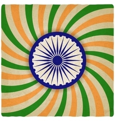 India independence day old background vector image