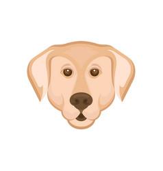 Labrador retriever logotype vector