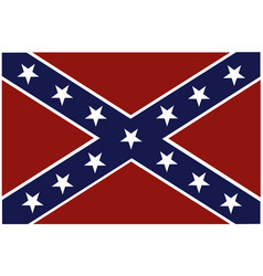 Rebel flag vector