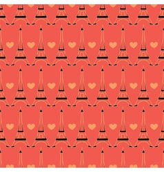 seamless Paris pattern vector image
