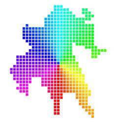 Spectrum dot peloponnese peninsula map vector