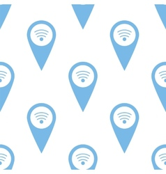 Wi-fi pointer seamless pattern vector image
