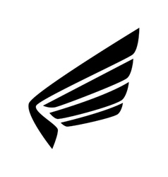 Wing modern strippes icon graphic vector