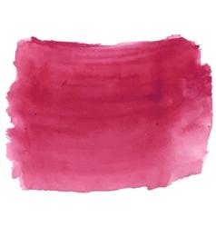 Dark deep red watercolor vector image