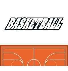 League of Basketball sport design vector image vector image