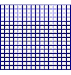 A pattern of blue and white squares vector image
