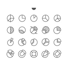 Charts ui pixel perfect well-crafted thin vector