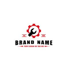 Creative automotive logo design vector
