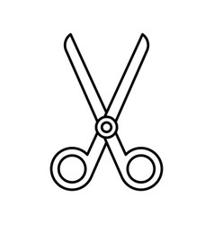 scissors icon image vector image