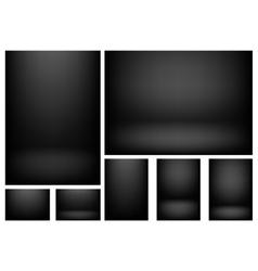 Studio light background vector image