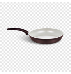 White griddle icon realistic style vector