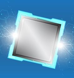 computer processor vector image vector image