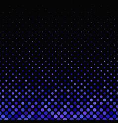 Blue geometric dot pattern - winter background vector