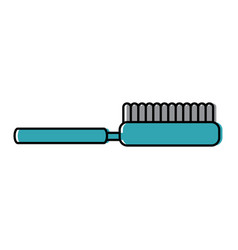 brush pet accessory clean icon vector image