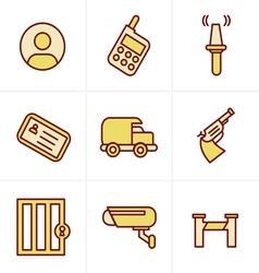 Icons Style Icons Style Security Icons vector