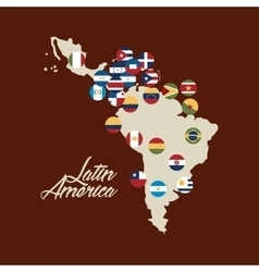 latin america design vector image