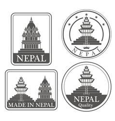 Nepal vector